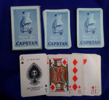 Vintage Collectible Cigarette Advertising playing cards Capstan circa